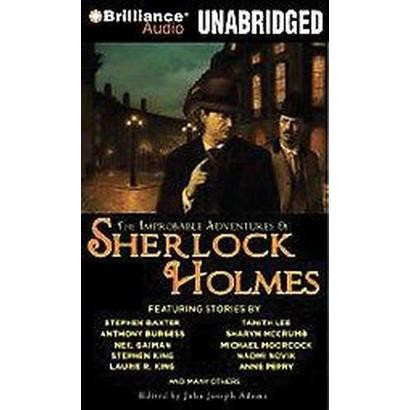 The Improbable Adventures of Sherlock Holmes (Unabridged) (Compact Disc)