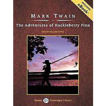 The Adventures of Huckleberry Finn (Unabridged) (Compact Disc)