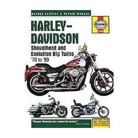 Harley-davidson Shovelhead and Evolution Big Twins 1970 to 1999 (New) (Hardcover)