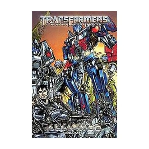 Transformers: Alliance 4 (Hardcover)