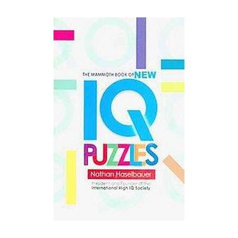 The Mammoth Book of New IQ Puzzles (Paperback)