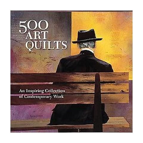 500 Art Quilts (Paperback)