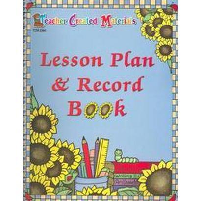 Lesson Plan & Record Book (Paperback)
