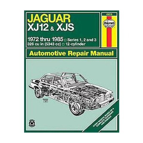 Jaguar 12-Cylinder Automotive Repair Manual (Paperback)
