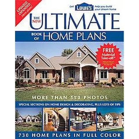 The New Ultimate Book of Home Plans (Updated / Expanded) (Paperback)
