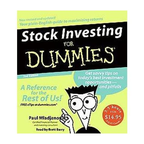 Stock Investing For Dummies (Abridged) (Compact Disc)