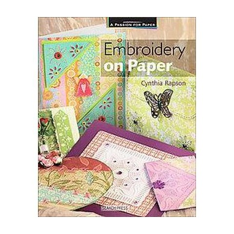 Embroidery on Paper (Paperback)
