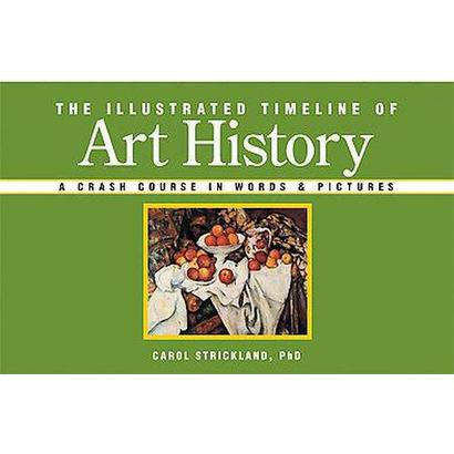 The Illustrated Timeline of Art History (Paperback)