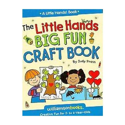 The Little Hands Big Fun Craft Book (Paperback)