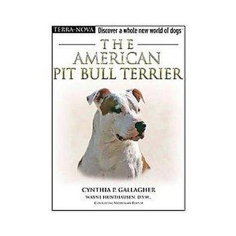 The American Pit Bull Terrier (Mixed media product)