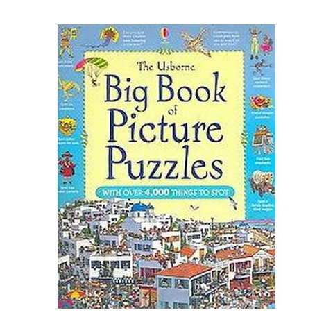 The Usborne Big Book of Picture Puzzles (Paperback)