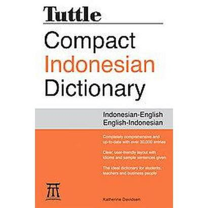 Tuttle Compact Indonesian Dictionary (Bilingual) (Paperback)