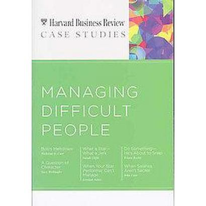 Managing Difficult People (Paperback)