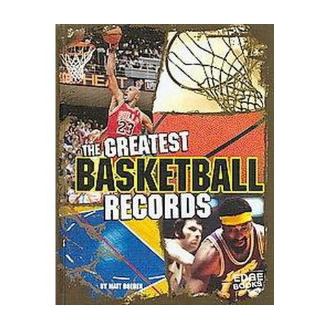 The Greatest Basketball Records (Hardcover)