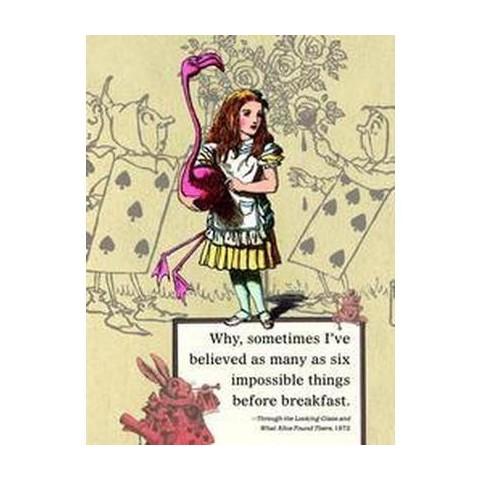 Alice in Wonerland Journal (Spiral)