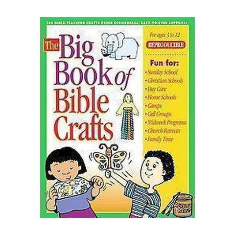 The Big Book Of Bible Crafts ( Big Book Series) (Paperback)