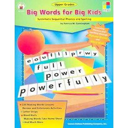 Big Words for Big Kids (Paperback)