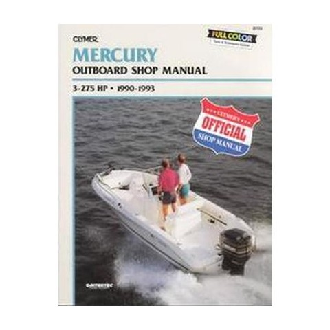 Mercury Outboard Shop Manual (Paperback)
