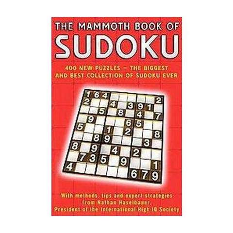 The Mammoth Book of Sudoku (Paperback)