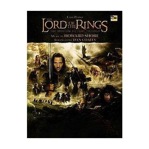 The Lord Of The Rings Easy Piano (Paperback)
