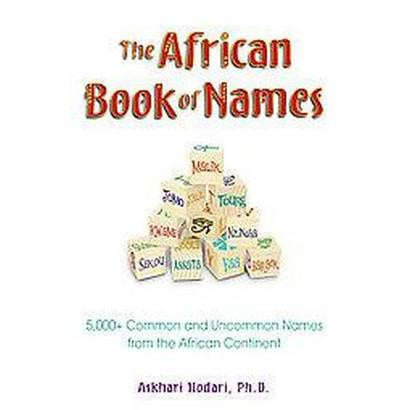 The African Book of Names (Paperback)