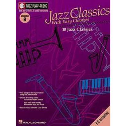 Jazz Classics With Easy Changes (6) (Mixed media product)