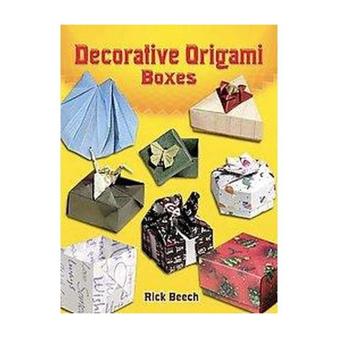 Decorative Origami Boxes (Paperback)