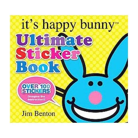 It's Happy Bunny Ultimate Sticker Book (Paperback)