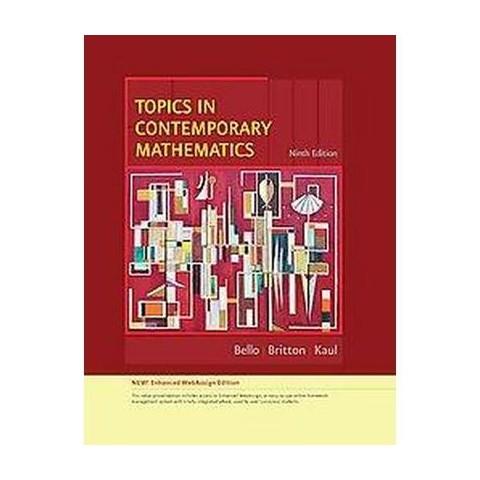 Topics In Contemporary Mathematics (Mixed media product)