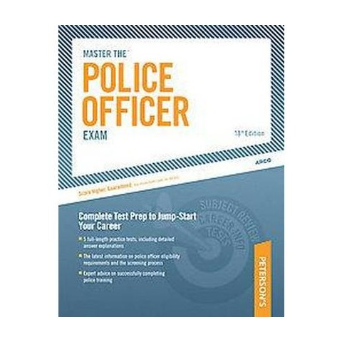 Peterson's Master the Police Officer Exam (Paperback)