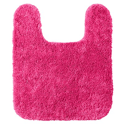 "Room Essentials™ Contour Bath Rug - Fiery Pink (20x24"")"
