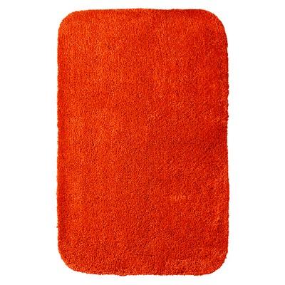 """Room Essentials™ Bath Rug - Super Orange (23.5x38"""")"""