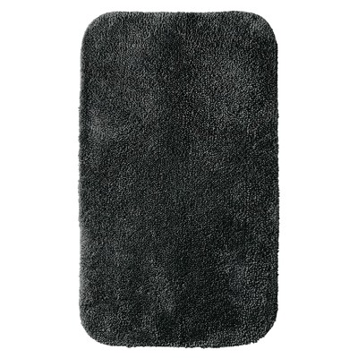 "Room Essentials™ Bath Rug - Ebony (20x34"")"