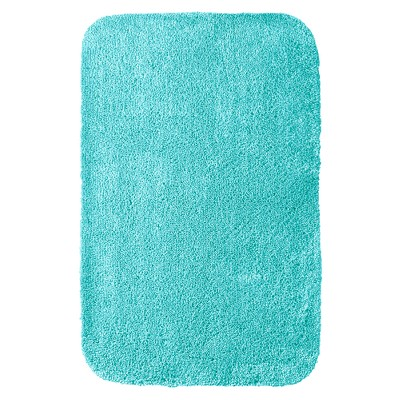 "Room Essentials™ Bath Rug - Sunbleached Turquoise (23.5x38"")"