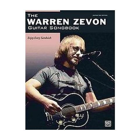Warren Zevon Guitar Songbook (Paperback)