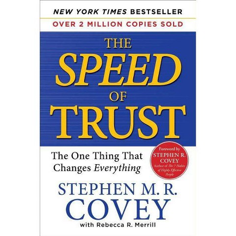 The Speed of Trust (Hardcover)