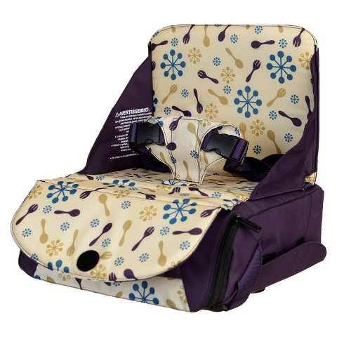 Munchkin Travel Booster Seat - Purple