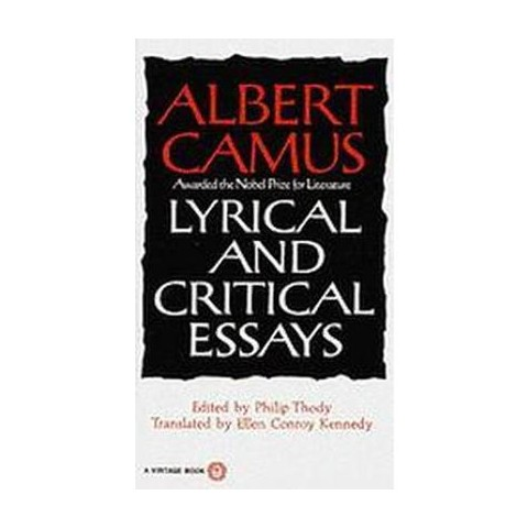Lyrical and Critical Essays (Paperback)