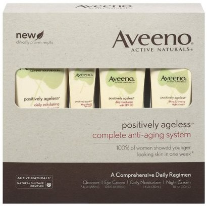 Aveeno Positively Ageless Complete Anti-Aging System