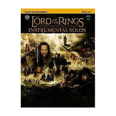 The Lord of the Rings, Instrumental Solos (Mixed media product)