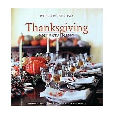 Williams-sonoma Thanksgiving (Hardcover)