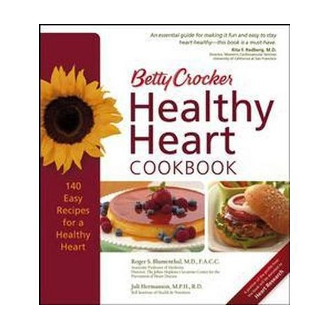 Betty Crocker Healthy Heart Cookbook (Hardcover)