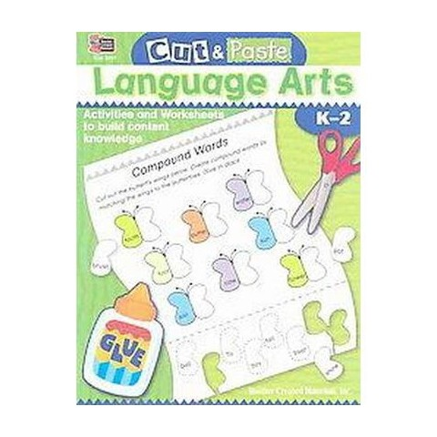 Cut & Paste Language Arts (Paperback)
