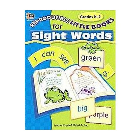 Reproducible Little Books For Sight Words (Paperback)