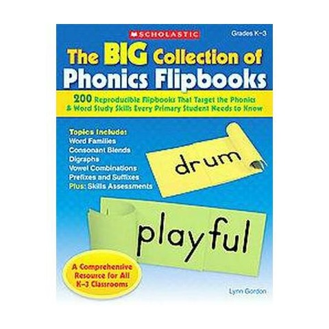 The Big Collection Of Phonics Flipbooks (Paperback)