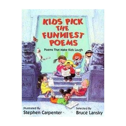 Kids Pick the Funniest Poems (Hardcover)