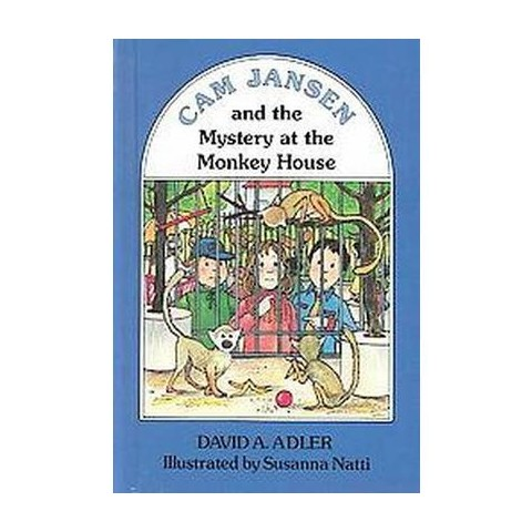 Cam Jansen and the Mystery at the Monkey House (Hardcover)