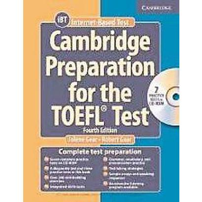 Cambridge Preparation for the Toefl Test (Mixed media product)