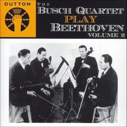 The Busch Quartet play Beethoven, Vol. 2