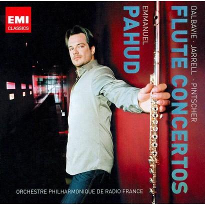 Flute Concertos by Dalbavie, Jarrell & Pintscher